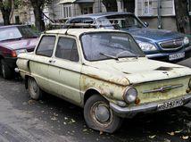 Rusko - staré autá
