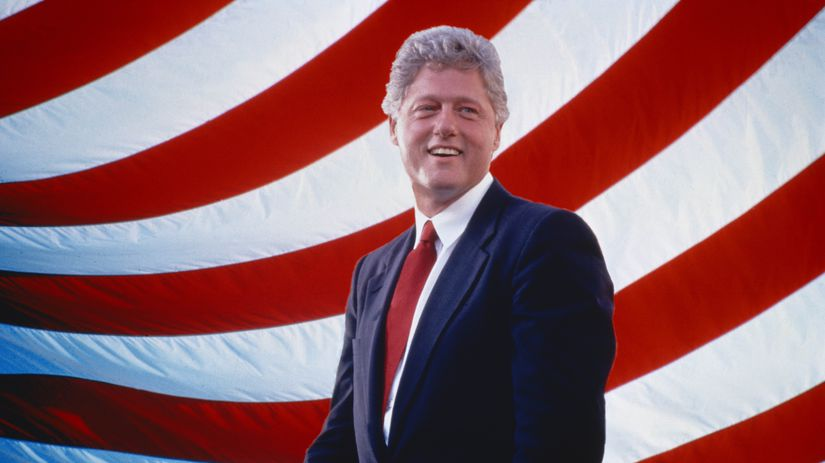 Bill Clinton prezident