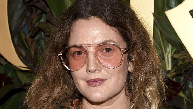Herečka Drew Barrymore.