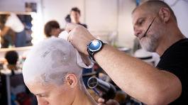 Saša Gachulincová trávi hodiny v maskérni predovšetkým pre dlhé a husté vlasy.