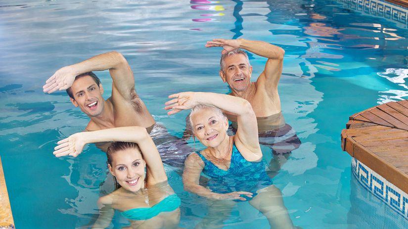 kúpele wellness cvičenie