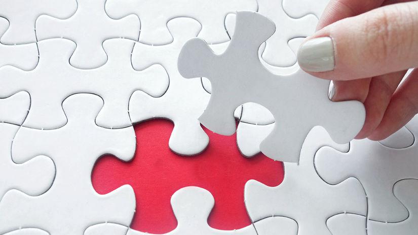 puzzle, ruka