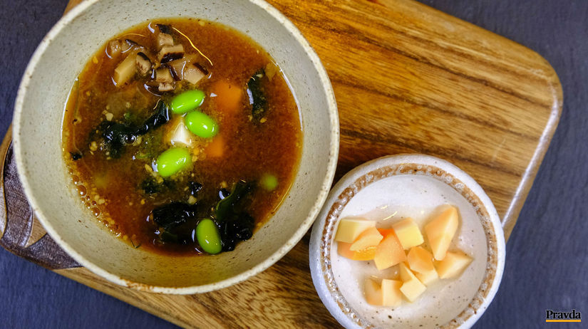 Japonská polievka miso
