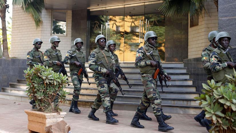 mali afrika vojaci