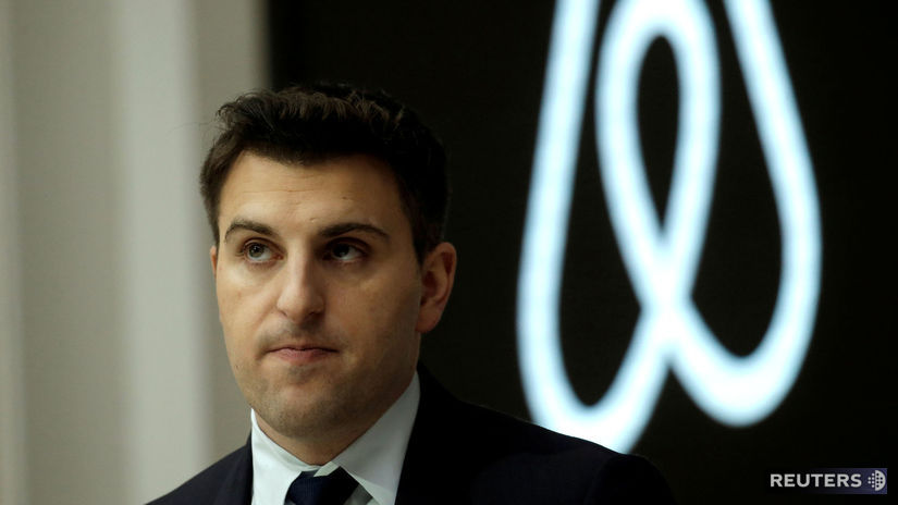 airbnb Brian Chesky