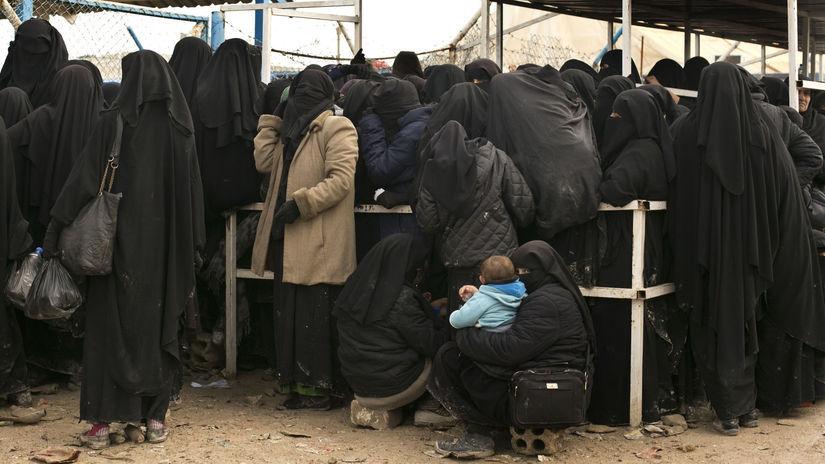 Islamský štát sýria burka ženy