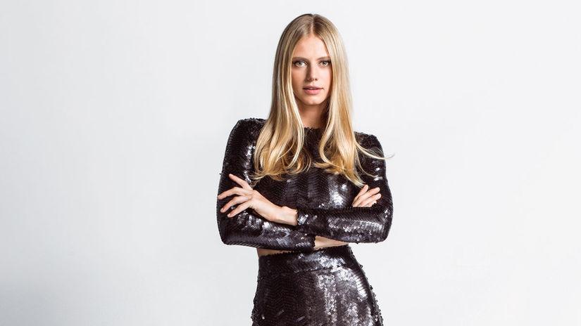Modelka Saša Gachulincová.