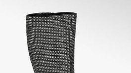 Vysoké trblietavé čižmy z kolekcie Rita Ora pre Deichmann. Predávajú sa za 59,95 eura.