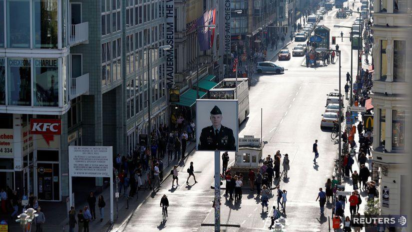 Berlín / Checkpoint Charlie /