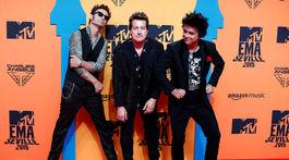 Členovia formácie Green Day.
