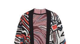 Dlhý kardigan, dá sa nosiť ako šaty z kolekcie Desigual. Predáva sa za 159,95 eura.