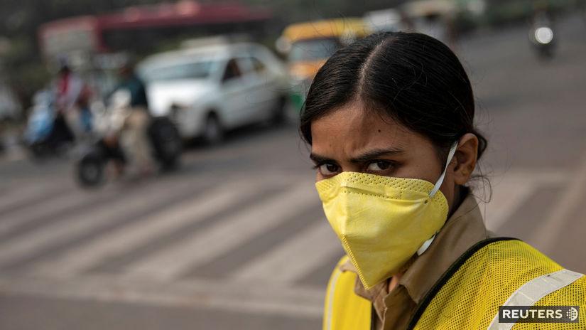 India / znečistenie /