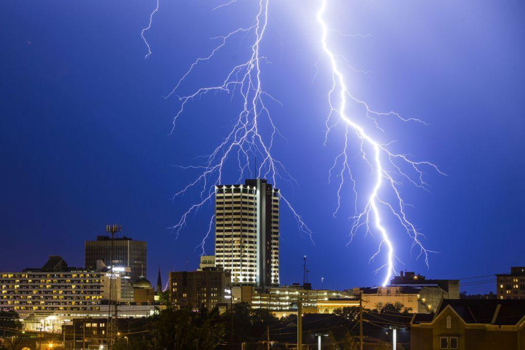Indiana, blesk, búrka, počasie, hrmenie,