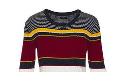 Pletené pruhované šaty Gant. Info o cene v predaji.