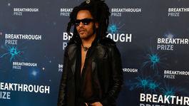 Hudobník Lenny Kravitz.