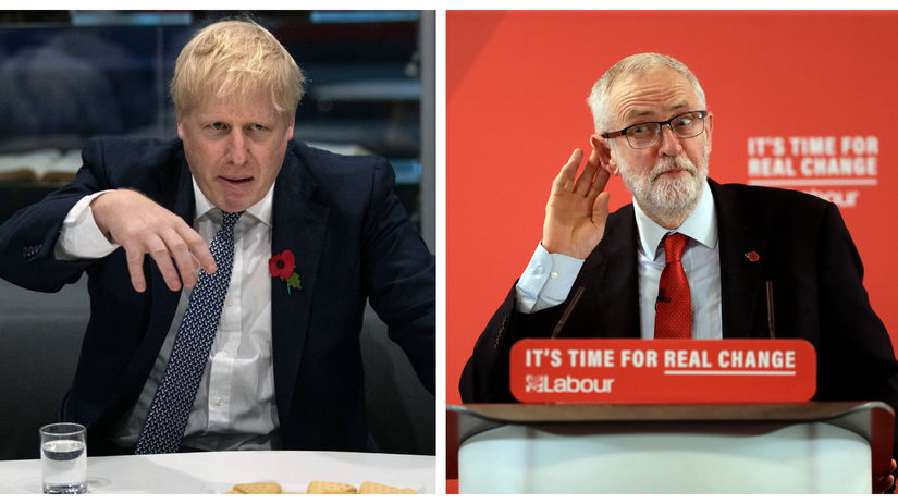 Johnson - Corbyn