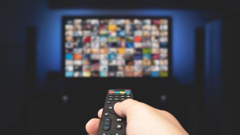 televízia, televízor, sledovanie televízie,...