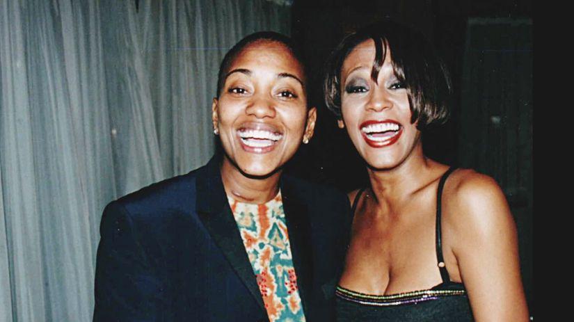 Archívny záber speváčky Whitney Houstonovej...