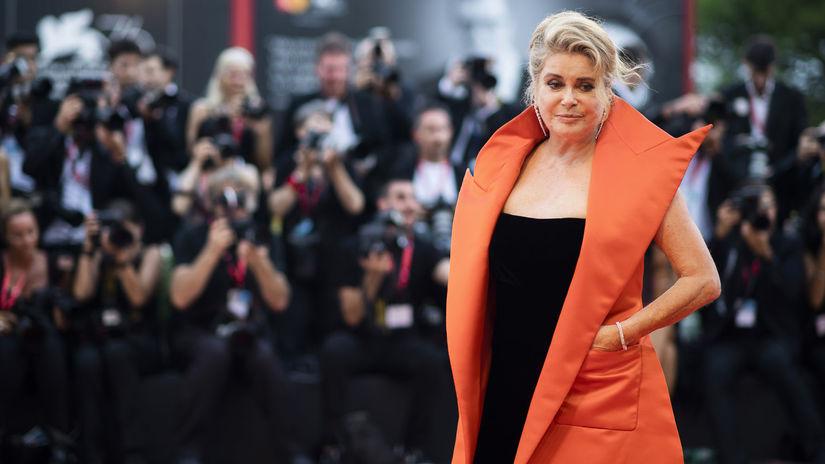 Francúzska herečka Catherine Deneuve na...