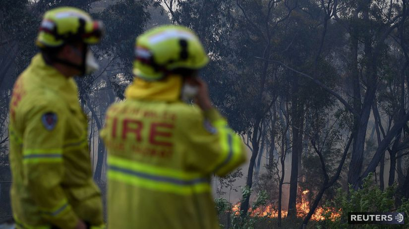 Austrália / požiar / hasič / hasiči /