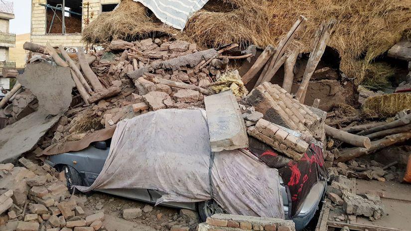 Irán zemetrasenie