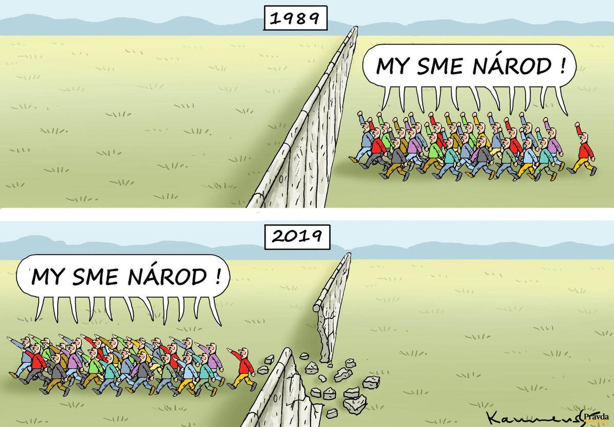 Karikatúra 09.11.2019