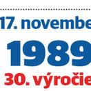 logo, nežná revolúcia, November 1989, 17. november 1989
