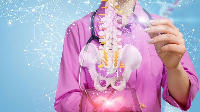 zdravie, doktor, doktorka, chrbtica, kostra