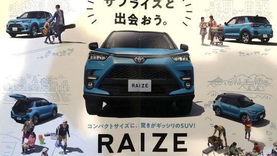 Toyota Raize: Dorazí do Európy malá 'RAV4'? Snímky unikli z brožúry