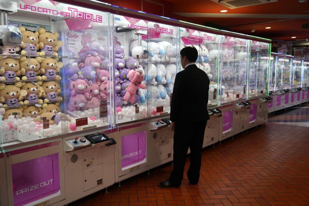 Japonsko, automaty
