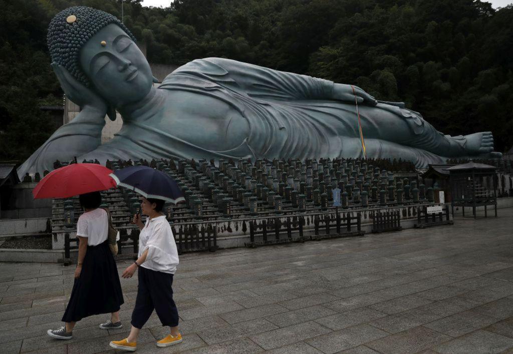 Japonsko, Budha, socha