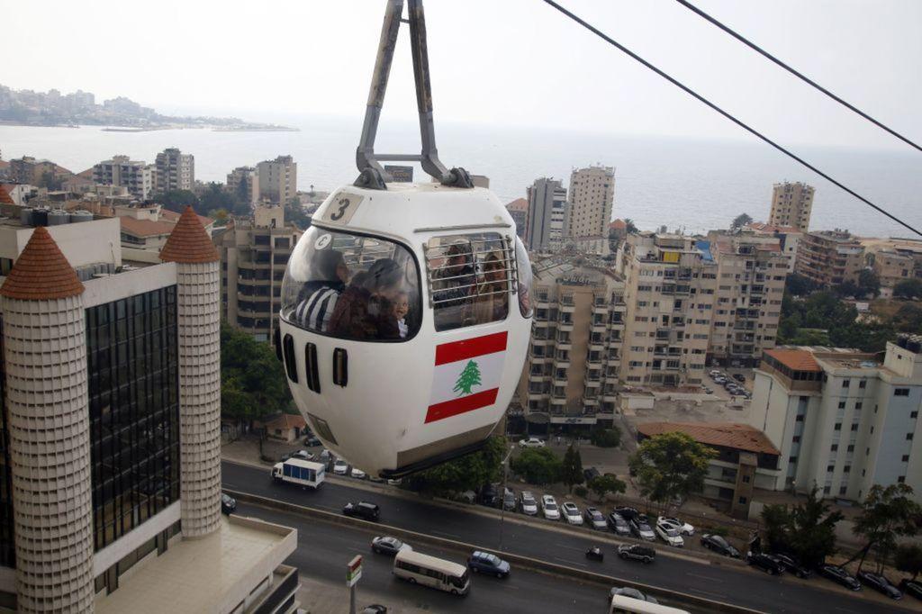 Libanon, lanovka, Bejrút