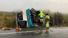 autobus nehoda malanta záchranári cesta