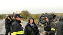 malanta nehoda dopravná nákladné auto autobus denisa saková