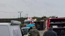 Malanta, nehoda, nitra, nákladné auto, autobus, záchranári