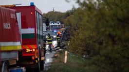 nehoda auto nákladné Malanta