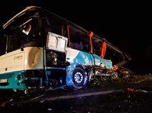 nehoda, autobus, nitrianske hrnčiarovce