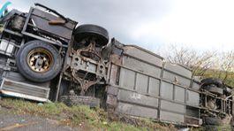 nehoda kamión nákladné auto