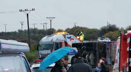 nehoda, nákladné auto, Malanta