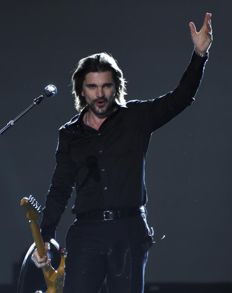Kolumbijský spevák Juanes