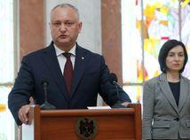 Moldavsko / Igor Dodon / Maia Sanduová /