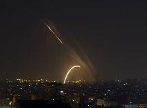 rakety noc izrael nálet
