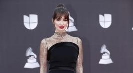 Herečka Paz Vega na vyhlásení cien Latin Grammy Awards.