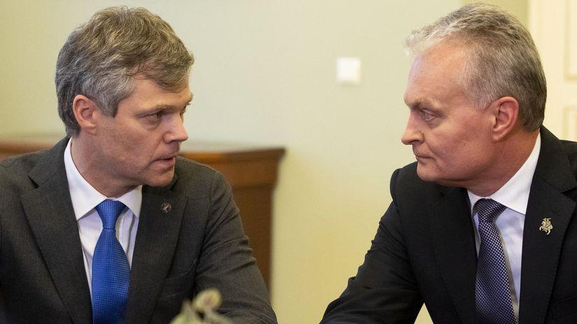 litva  Darius Jauniskis Gitanas Nauséda