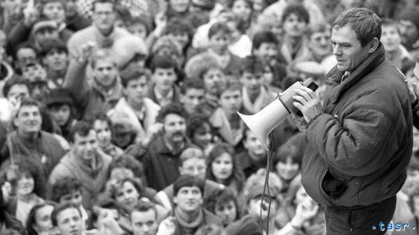 Milan Kňažko, November 1989, jednorazové...