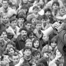 Milan Kňažko, November 1989, jednorazové použitie!!!
