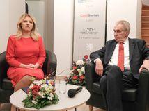 Prezident Zeman si v Bratislave splnil sen, chýba mu však