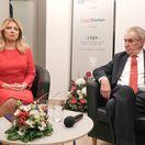 """Prezident Zeman si v Bratislave splnil sen, chýba mu však """"hospůdka"""""""