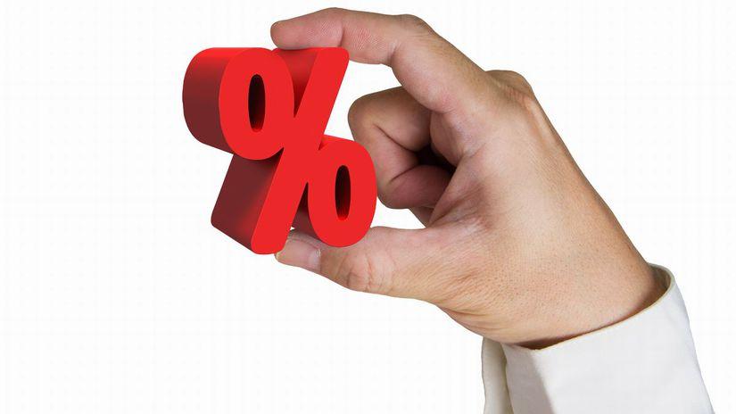 ruka, percento, rast, valorizácia