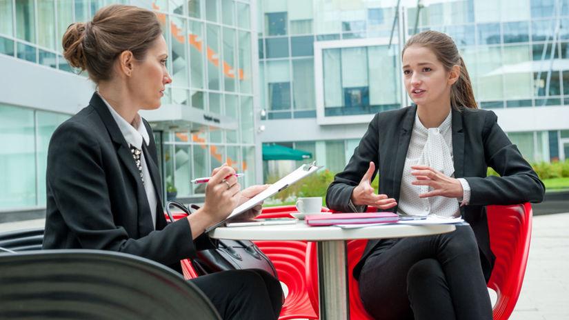 pohovor, interview, ženy